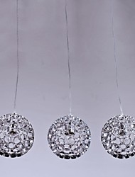 MAISHANG® Chandelier , 3 Light , Crystal Artistic Stainless Steel Plating MS-86062