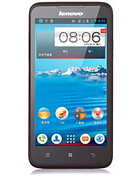 "Lenovo A316 4.0 "" Android 2.3 Smartphone 3G (Due SIM Dual Core 2 MP <256MB + 4 GB Nero)"