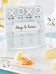 XOXO Appetizer Picks Fruit Forks, Set of 4