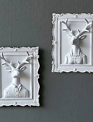 "2 ""H blanche gracieuse Mlle cerfs"