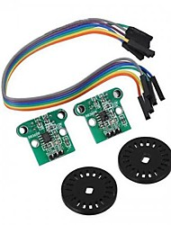 Speed Measuring Module Encoding Disk Set for Smart Car Chassis
