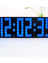 Kosda Chihai ® LED réveil noir numérique couleur de l'affichage clair de bureau Snooze Chambre temps