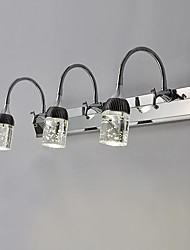 Led Luce a muro 3 Light, Simple artistico Acciaio inossidabile Placcatura MS-86315