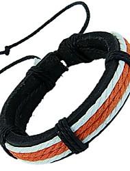 Unisex Fashion Retro Hand Made Leather Bracelet
