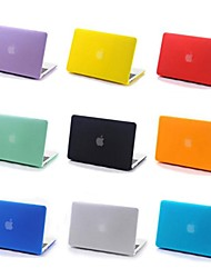 coosbo® 11color Matt Rubberized Hard Case For Apple Mac Macbook Air Pro Retina Display 13 15 11 Inch Cover Case Shell