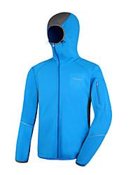 AMADIS Azul poliéster de manga larga Anti-UV Pesca Jacket