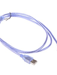 Haute-Speed USB 2.0 mâle à mâle Câble adaptateur de données - Bleu (150cm)