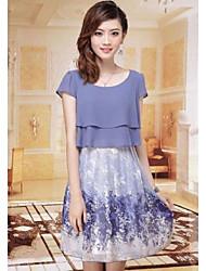 Women's Floral Slim Dress