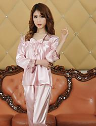 furuixiang manga longa rendas lingerie padrão suitsleeve aleatória
