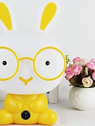 Table Lamps Cartoon Rabbit  Yellow Plastic Acrylic
