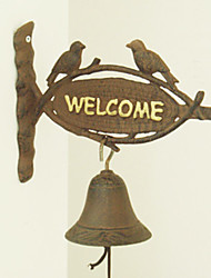 The Nordic Country Style Restoring Ancient Ways Of Two Birds, Wrought Iron Door Bell