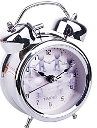 Timess™  Happy Double Bell Night-light Mute Alarm Clock