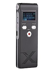 Новый профессиональный цифровой диктофон Диктофон MP3-плеер 4G Черный