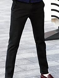 Casual pantalones de color sólido de los hombres