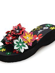 Женские танкетка Слайд Сандалии (больше цветов)