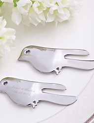 "Personalized ""Lovey Dovey"" Metal Letter Opener - Set of 4"