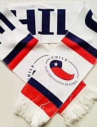 Copa Mundial de regalos del aficionado al fútbol bufanda (Chile Style)