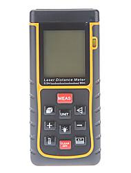 80m/262ft mini-diastimeter distância digital a laser rangefinder medidor de volume de mão medida área