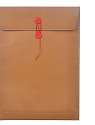 High Quality Folder Style PU leather Full Body Case for Apple Macbook Air 11.6-Inch (Brown)