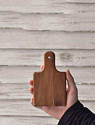 Mini Size Wooden Cutting Board, L8.5cm x W8.5cm x H2cm