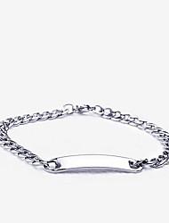 eruner®titanium stalen ketting armband