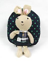 Bambini del ragazzo di stile del fumetto Bunny borse in cotone zaino della ragazza