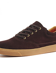AWNT Fashion Men's Casual England Low Cut Skate Shoes(Brown)