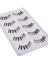 5 Pairs Love Discontinuous Style False Eyelashes within High-grade Gift Box 5-04