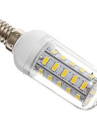 7W E14 LED лампы типа Корн T 36 SMD 5730 650 lm Тёплый белый AC 220-240 V