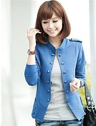 Women's Stand Collar Short Small Suit Blazer
