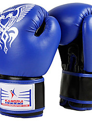 10oz PU Leather Full Finger Boxing Gloves(Assorted Color)