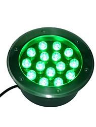 15 LED haute puissance vert métro léger AC85-265V