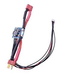 CRIUS APM module d'alimentation 30V / 90A avec BEC 3A Ouput soutien 30V pour APM 2.6 Pixhawk T plug