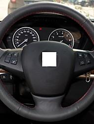 Xuji ™ genuino nero Copertura Volante in pelle per BMW X5