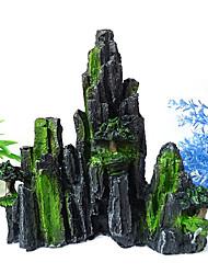 Design Ornement de décoration de résine de rocaille pour Aquarium
