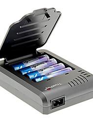 TrustFire 2000mAh батареи 18650 (4 шт) с Перегрузка защиты + TrustFire TF-003 Зарядное устройство для 18650 (для 4 батарей)