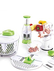 Elegant Kitchen Tools Set, Fruit &Vegetable Grater Meat Grinder Garlic Masher, 35*28.2*28.5cm