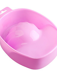 1PCS NEW Style Pink Nail Art Hand Remove Wash Soak Bowl Manicure Tool