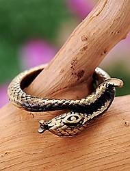 bague serpent millésime 2014 le laiton vieilli de unisexe / plaqué redorer l'argent