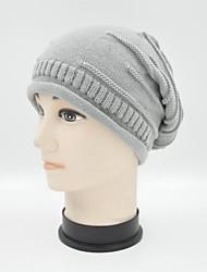Hou Tong & ® Unisex Stripe Knitting Beanie Hat