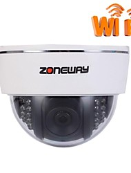 ZONEWAY® NC864MW-P Indoor 2.0MP HD 1920 x 1080 Resolution Wifi IP Dome Camera(ONVIF, P2P, Night Vision)
