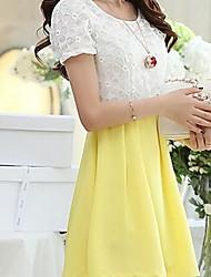 Women's Dress Shirts , Chiffon/Lace Casual Sheila