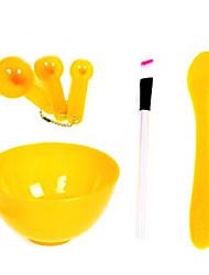 Maschera di bellezza Set tester + Mask Bowl + + Maschera per il viso
