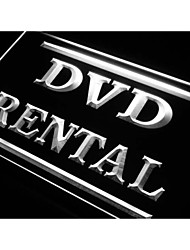 DVD Rental Shop Store Neon Light Sign