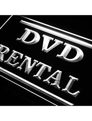 DVD Rental Shop Store Neon Light Sign