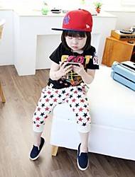 Boy's Fashion Vrije tijd Pentagram Color Matching Midden Broek
