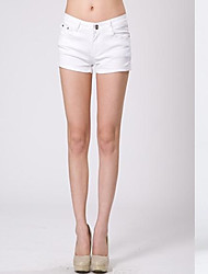 Women's Sexy Bodycon Candy Color Short Pants