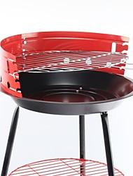 Aço Field Household carvão portátil da Apple Grill, 38x38x54cm