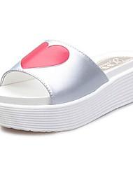 Donna piattaforma scorrevole Pantofole Shoes (più colori)