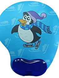 Shenguangjukui Mouse Pad Blue Penguin